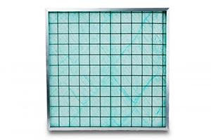 Панельный фильтр из стекловолокна для очистки от краски